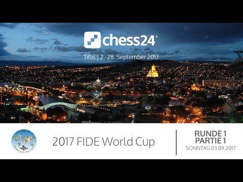 1. Runde - 1. Partie - FIDE World Cup 2017 - Live-Kommentierung
