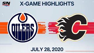 NHL Highlights   Oilers vs. Flames – Jul. 28, 2020