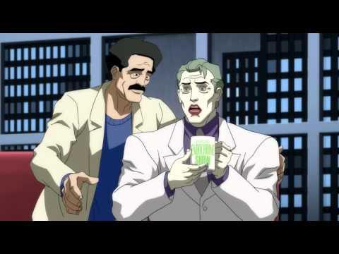 Джокер в мультфильме Возвращение Тёмного Рыцаря.