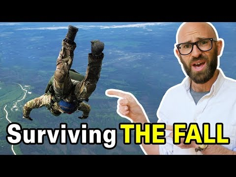 What Is The Best Way To Survive Falling Out Of A Plane With No Parachute?