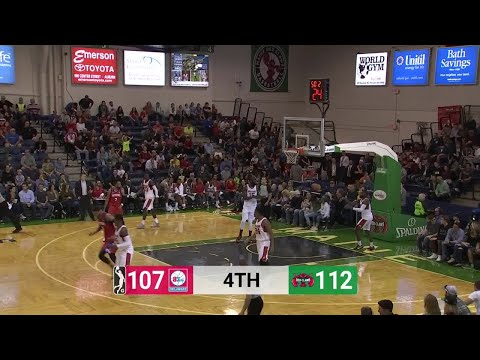 Mike Young (21 points) Game Highlights vs. Maine Red Claws