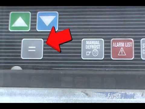 Refrigeration Trailers -- Proper Operation