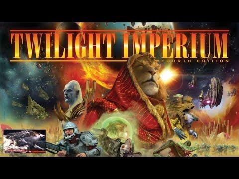 2-Настольная игра Сумерки Империи. Четвертое Издание (Twilight Imperium. 4th Edition). Прохождение 1
