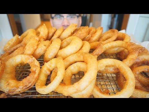 How To Cook BEER BATTER ONION RINGS