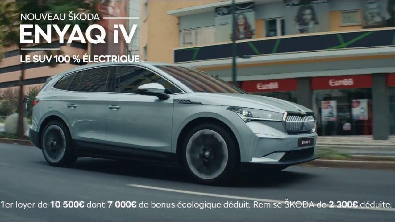 """Musique de la pub Nouveau SUV Skoda ENYAQ iV 100% électrique """"il n'y a pas si longtemps""""  2021"""