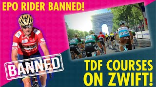 RIDER BANNED & NEW COURSE COMING TO ZWIFT!