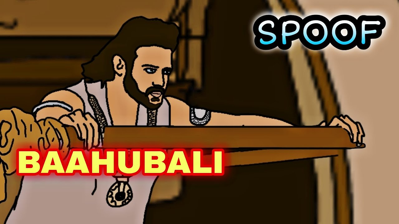 Download BAAHUBALI SPOOF (PART 2)   funny 2d animated spoof   prabhas   MOVIE VS REALITY
