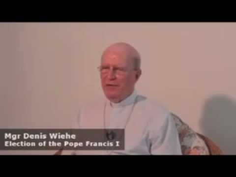 Bishop Denis Wiehe_Election of the pope Francis