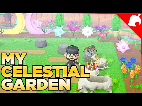 I Built an Enchanted Celestial Garden in Animal Crossing New Horizons