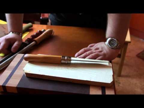 Правка ножей мусатом