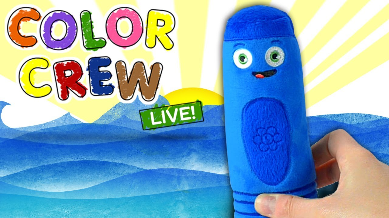 Learn Colors With Color Crew Soft Toys For Kids All Of