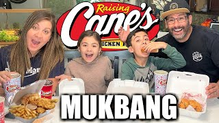 RAISING CANES MUKBANG LÏVE   We ordered every FRIED CHICKEN combo on the Raising Canes Menu