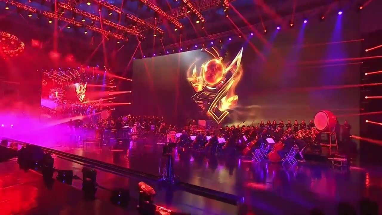 Worlds Theme Honor Theme Music Live League Of Legends Epic Live Concert Worlds 2017 2017 1