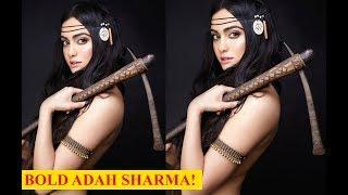 Adah Sharma looks fierce as she goes topless for a shoot!