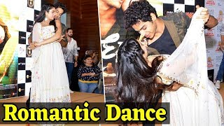 Janhvi और Ishaan ने किया Romantic Dance| Dhadak - Title Track