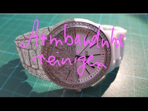 How to clean a wristwatch? ex. Joop ceramic watch