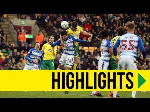HIGHLIGHTS: Norwich City 3-2 Reading