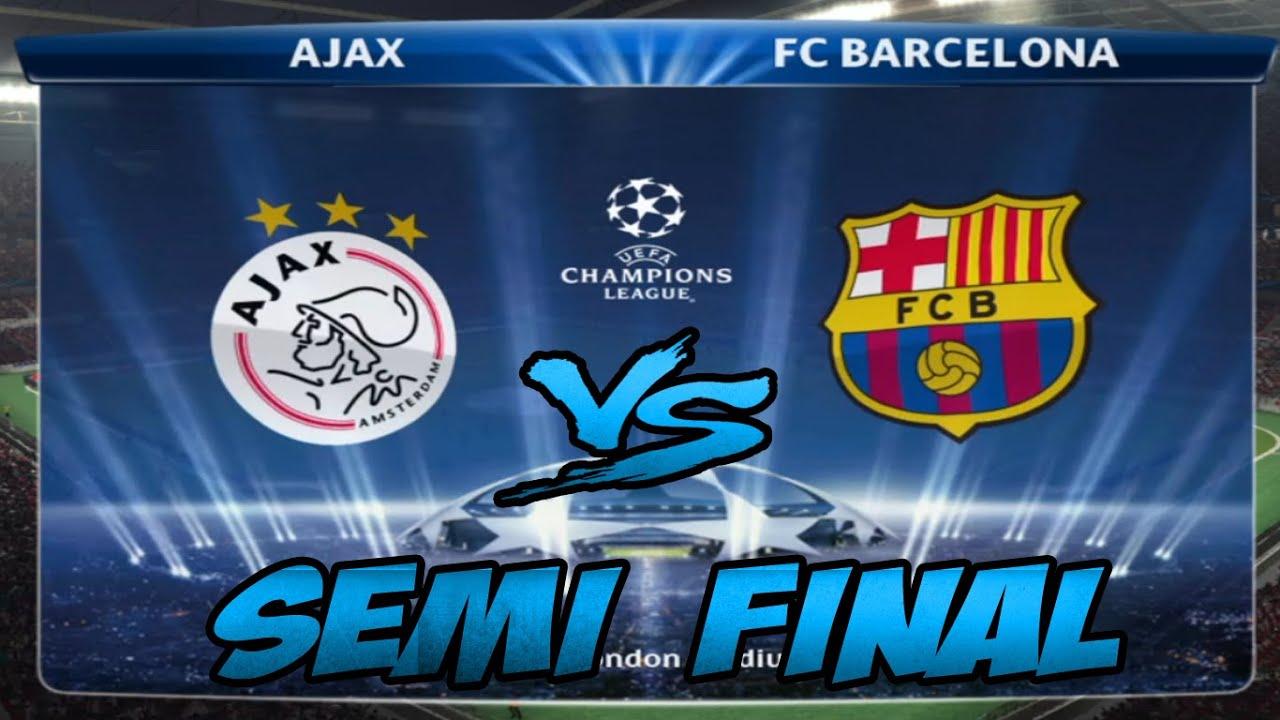 2015 barcelona vs ajax uefa champions league semi final youtube