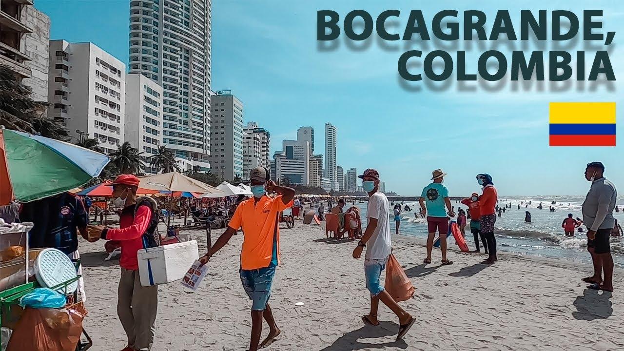 NEBUNIE pe aceasta PLAJA din Columbia | Bocagrande ⛱