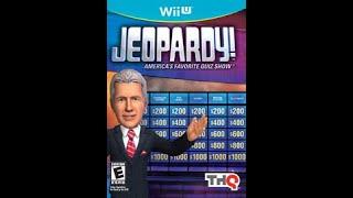 Nintendo Wii U Jeopardy! ORIGINAL RUN Game #2