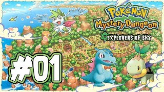 Pokemon Mystery Dungeon: Explorers of Sky Playthrough with Chaos part 1: Storm at Sea
