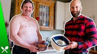 Opa Klaus überrascht mit Thunfischsalat