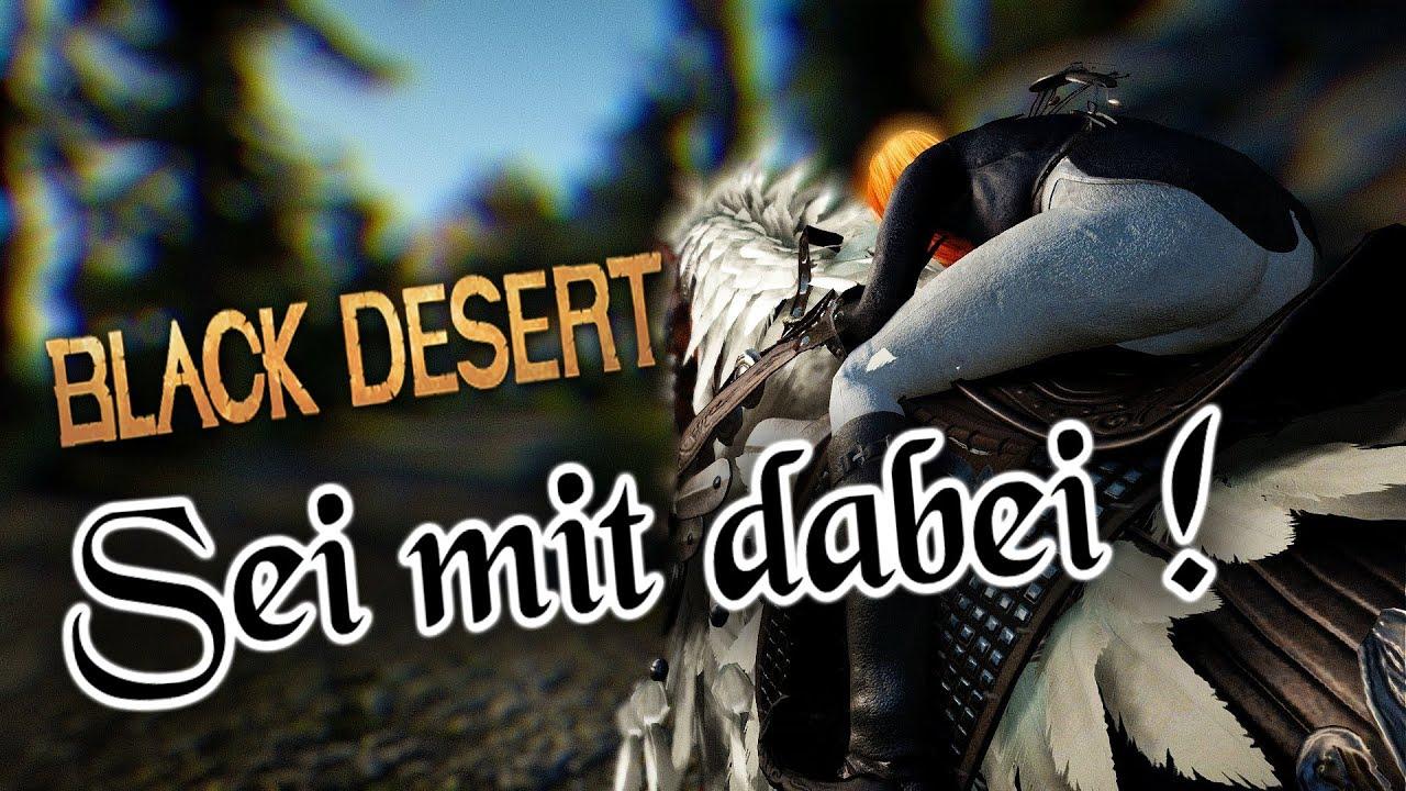 Black Desert Jagd