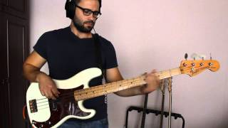[bass cover] the mars volta - roulette dares (the haunt of)