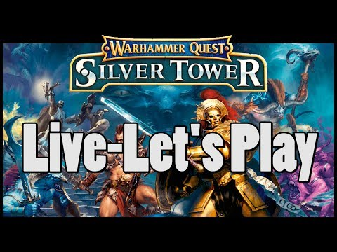 Warhammer Quest: Silver Tower Let's Play mit Michael Mingers