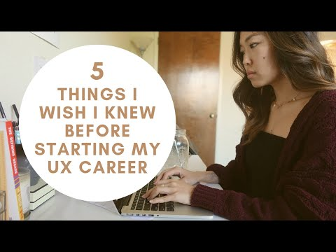 What I wish I knew before starting my UX Designer Career (Product Design in 2019) | UX Designer Tips