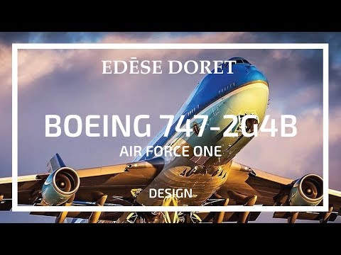 Air Force One Boeing 747-2G4B (VC 25A) designed by Edése Doret