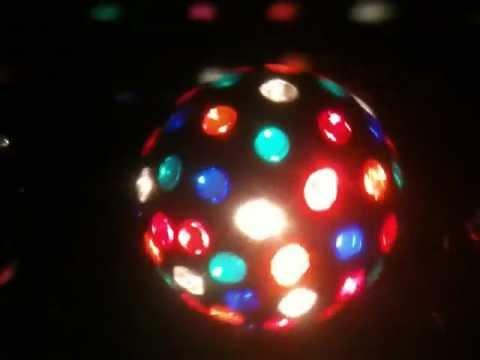 Bola de discoteca tama o grande youtube - Bola de discoteca de colores ...