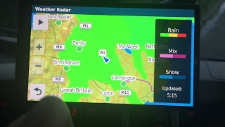 Garmin 61 Advanced Weather Radar road condition