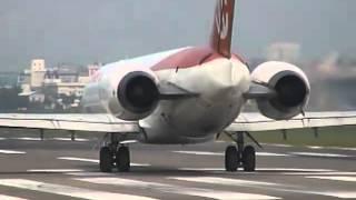 Аэропорт Санкт-петербург Airport saint-petersburg MD-90 вылет