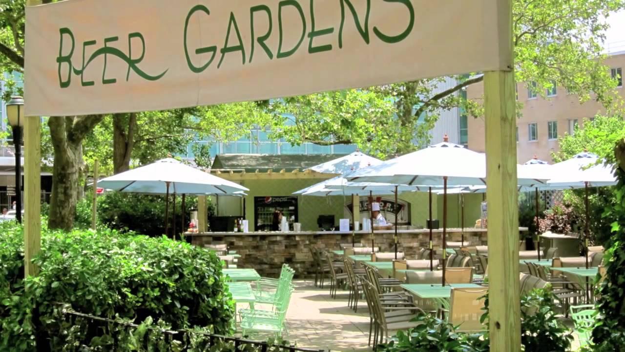 Battery Gardens Restaurant Amp Beer Gardens Youtube