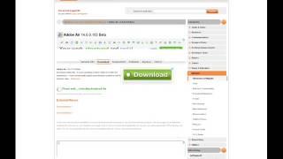 Adobe Air 14 0 0 103 Beta