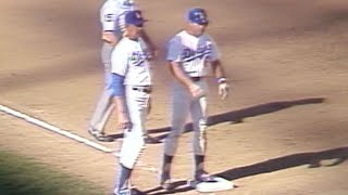 NLDS 1981 Gm5: Garvey triples to put Dodgers up, 4-0