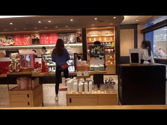 China Starbucks Coronavirus Health And Prevention Procedures