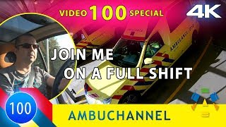 [4K] VIDEO 100 SPECIAL. Join me on a complete shift.