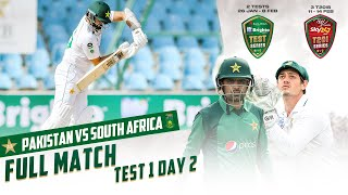 LIVE - Pakistan vs South Africa | 1st Test Day 2 | PCB