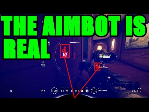 THE AIMBOT IS REAL - Rainbow Six Siege Funny & Epic Moments