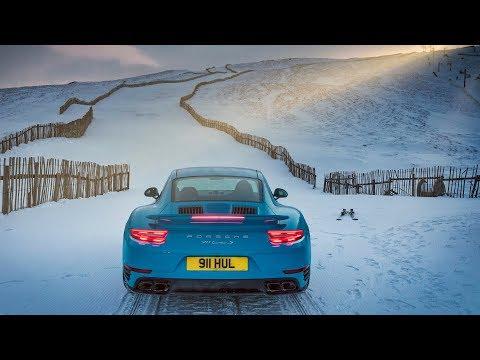 ¿Remontes en la nieve? Mejor un Porsche 911 Turbo S