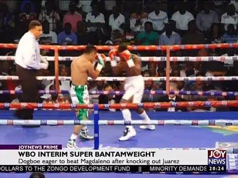 WBO Interim Super Bantamweight - Joy Sports Prime (8-1-18)