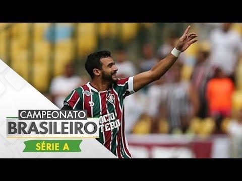 Melhores Momentos - Gols de Fluminense 3 x 2 Santos - Campeonato Brasileiro (14/05/2017)