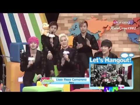130622 MBLAQ After School Club +Speak English ~
