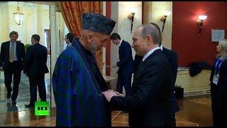 Путин встретил высокопоставленных гостей Олимпиады