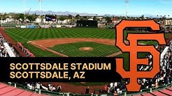 Scottsdale Stadium Giants- AZ Spring Training 2019