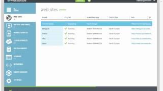 Comment utiliser un modèle de site Web avec Windows Azure
