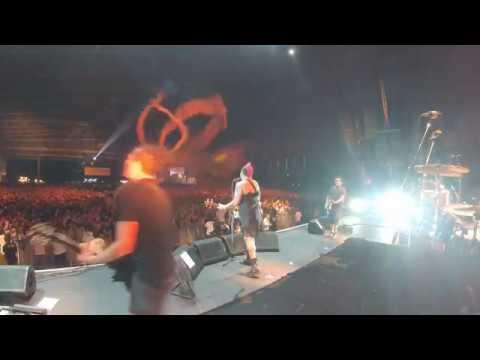 NOFX - Roger Lima as Eric Melvin - Linoleum - Punkspring, Japan 3/26/17