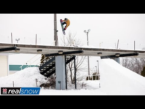 Frank Bourgeois wins gold in Real Snow 2017   X Games